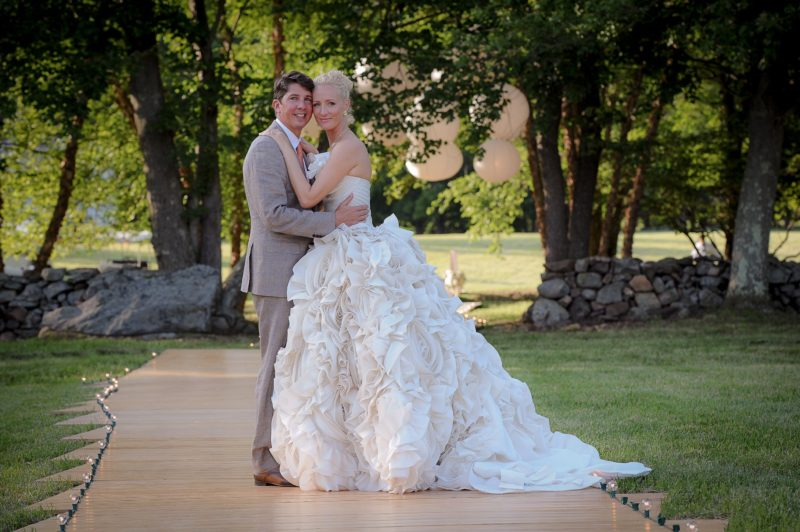The knot has been tied! (Photo: Kristen Somody Whalen)