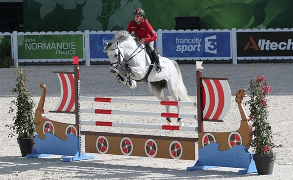 Photo: PSV Photo/Normandie 2014, Alltech FEI World Equestrian Games on Facebook