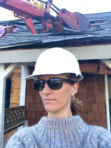 Construction hat: the new fedora