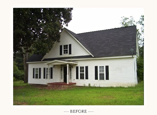 The 1830 house was moved and transformed.
