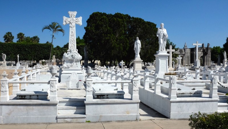 At the Christopher Columbus Cemetery