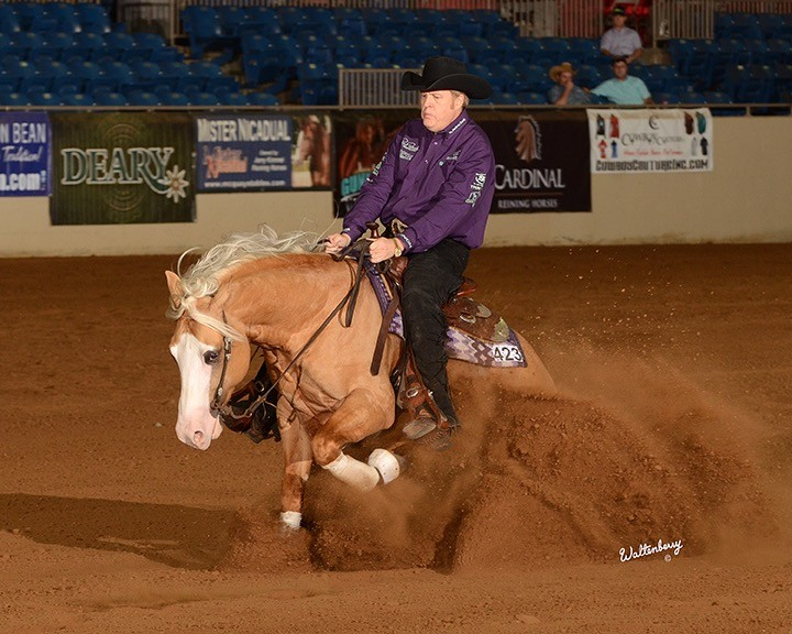 Corey and Tom competing earlier this year (They were NCRHA Open Futurity champs.)