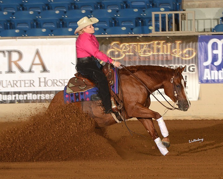 My Darlin Tonite and Mandy McCutcheon, Novice Non Pro Derby Champions