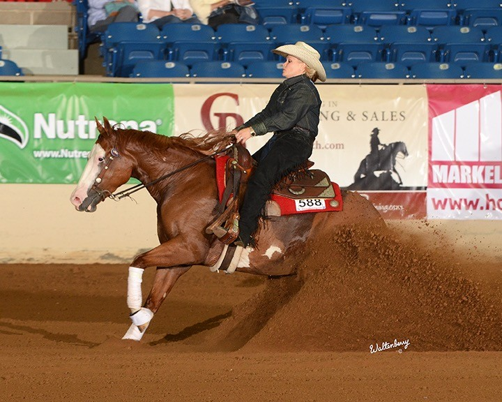 Paint The Nite and Mandy McCutcheon, Non Pro Futurity Reserve Champions