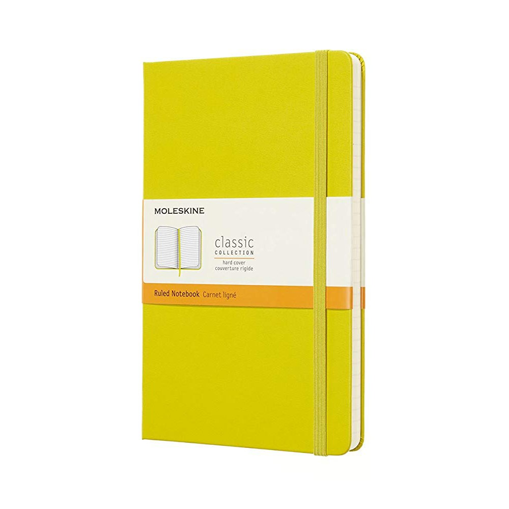 Large Ruled Classic Hard Cover Notebook